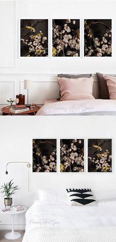 Spring Art, Floral Pillows, Custom Pillows, Cherry Blossom, Wall Decor, Wall Art, Beautiful Homes, Home Goods, Art Photography