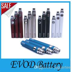 Wholesale EVOD Battery - Buy EVOD Battery 650mah 900mah 1100mah 510 Thread Ego Series Batteies for Ego-W Ego-t Ego-c Ego-v Evod MT3 Atomizers,fit CE4 CE5 CE4S CE6 T2 DCT, $3.29 | DHgate
