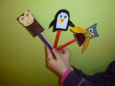 Δημιουργώ και Χαίρομαι: Δαχτυλόκουκλες ζωάκια