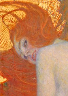 Goldfish (detail) by Gustav Klimt, 1901-1902