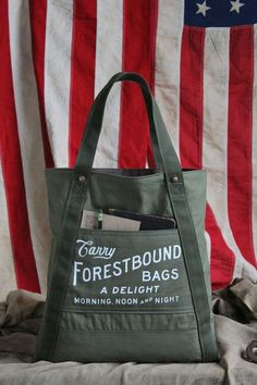 forestbound bags & tees - made in new england