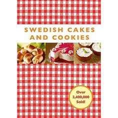 Swedish Cakes and Cookies $10.77
