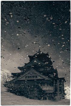 Albarrán Cabrera The Mouth of Krishna Japan, 2015. #395 Cyanotype over palladium print.