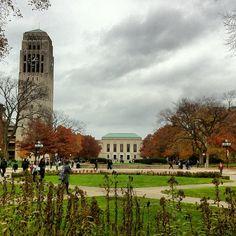 Cloudy in Ann Arbor. Courtesy of @Jaygusta