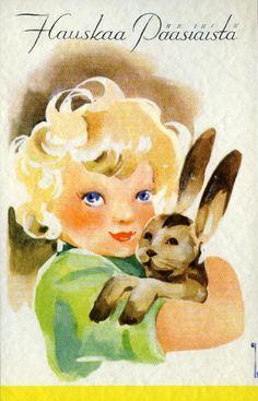 Hauskaa pääsiäistä #pääsiäinen #easter #kortit #cards #puput Tinkerbell, Disney Characters, Fictional Characters, Easter, Disney Princess, Cards, Tinker Bell, Fantasy Characters, Disney Princes
