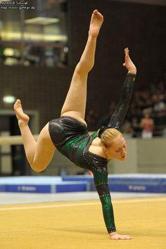 Deutsche Jugendmeisterschaften 2009  gymnastics floor exercise 2020-01-25