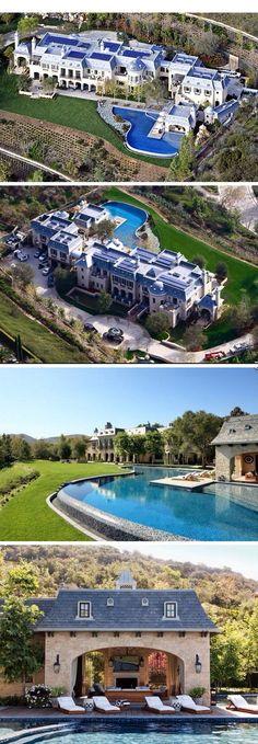 Denzel Washington's massive Beverly Hills estate #ModernMansions | Real Estate Investing ...
