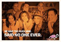 Wine + Friends = Happiness! #OneLastPour