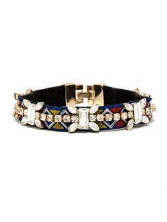 crystal ribbon bracelet / baublebar