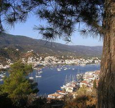 Poros, Greece Poros Greece, Simply Beautiful, Beautiful Places, Greek Islands, Places To Go, Destinations, Earth, River, Nature
