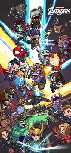 Avengers wallpaper   Avengers wallpaper, Marvel comics wallpaper, Chibi marvel