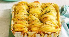 Vertical potato bake