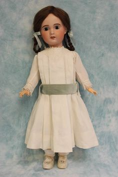 "Antique 23"" SFBJ Paris 11 French Bisque Doll c.1900 Beautifully dressed"