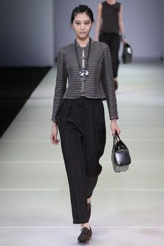 Giorgio Armani Spring 2015 Ready-to-Wear - Collection - Gallery - Look 1 - Style.com