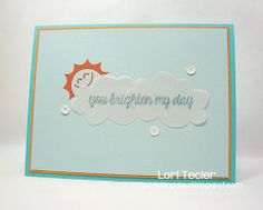 You Brighten My Day-designed by Lori Tecler-Inking Aloud-stamps from @Lawn Fawn , inks from @Imagine Crafts /Tsukineko