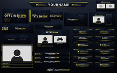 18 Best Twitch branding images in 2019