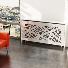 Looking for a modern radiator cover to conceal heating essentials? Take a look of modern radiator covers to make a style inside your home. Radiator covers can be made to match… Continue Reading → Best Radiators, Home Radiators, Modern Dining Room Lighting, Dining Room Light Fixtures, Home Decor Kitchen, Diy Home Decor, Modern Radiator Cover, Room Lights, Home Renovation