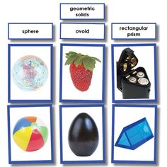 Geometric Solids Photo Sorting Activity