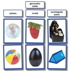 Geometric Solids Photo Sorting Activity