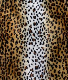Brown Baby Cheetah Velboa Faux Fur Fabric | OnlineFabricStore.net