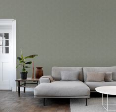 Living Spaces, Living Room, Couch, Sofa, Mid Century Style, Next At Home, Bed And Breakfast, Home And Living, Interior Inspiration