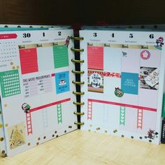 First week of December layout The Happy Planner