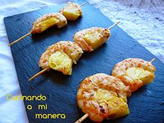 Ideas que mejoran tu vida Pineapple Shrimp, Salad Recipes, Healthy Recipes, Good Food, Yummy Food, Al Fresco Dining, Salad Bar, Canapes, Bon Appetit