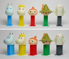 #013 Moomin mini PEZ | about mini PEZ