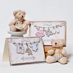Maja Nowak / Oliwiaen's Gallery: Welcome Baby Cards *DT Maja Design