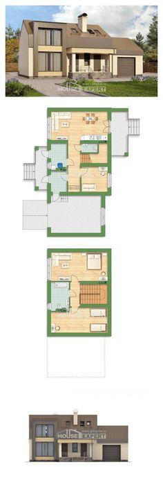 Ev villa projesi 150-015-L | House Expert