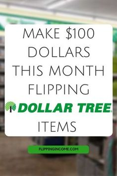 How To Make Money With These 6 Items From Dollar Tree - Part 2 - Make Money With Dollar Stores - Diy & Crafts Earn Money From Home, Earn Money Online, Way To Make Money, Online Jobs, Money Fast, Mo Money, Play Money, Money Today, Online Income