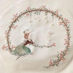 ☕️ 자 수 일 기 36 . . . 네 번째 뜯겨 나간 새야 맘에 확~~들어 오는 실을 찾을 수가 없고나  . . . . . All illustrated by me. . #character #illust #sketch #drawing #artwork #doodle #design #cotton #embroidery #spring #teatime #coffee #캐릭터 #일러스트 #디자인 #데일리 #스케치 #그림 #광목 #자수 #프랑스자수 #도안 #창작도안 #작업실 #솜씨 #手 #수이야기