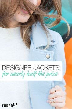 So long summer, hello sweater weather! Find your unique, one-of-a-kind fall styles from designer jackets to all the brands you love at up to 90% off! Discover irresistible, new treasures in each thredUP box! Sign up and join the movement today!