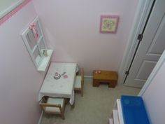 what child does not like a little hideaway play area?!  :)