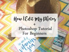 When it comes to editing blog photos, a lot of bloggers use VSCO cam, The Color Story, Snapseed or Picmonkey instead of Photoshop because they think it's a little complicated. But for me, Photoshop is the key to spruce up my pictures. My blog photos look a lot more professional using Adobe Photoshop CS6.I am not an expert in Photoshop. However, my sister is a graphic designer so I learned some basics in Adobe Photoshop from her that I would love to share with you. Photoshop is not that hard…