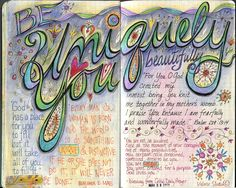 """""""U"""" ... UNIQUELY YOU ... """"A to Z of Me"""" Moleskine Journal"""