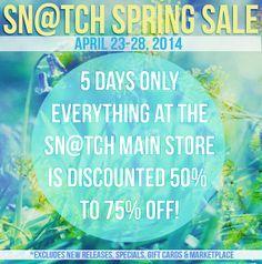 Sale Poster Spring 2014 | Flickr - Photo Sharing!