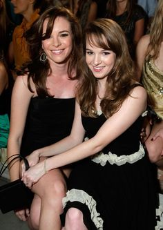 Panabaker sisters - I love these girls - thought they were the same person for a while there..