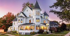 c.1895 Queen Anne Victorian located at: 146 Waterloo Row Fredericton, New Brunswick, CA