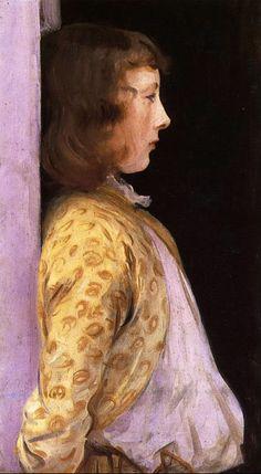 Andrew Wyeth ~ Portrait of Dorothy Barnard
