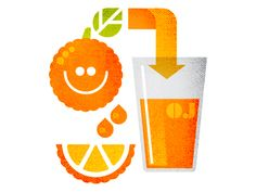 Dribbble - Orange You Glad... by Matt Lehman