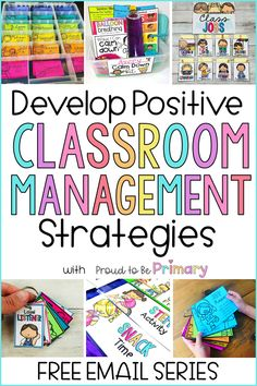 Every primary teacher needs to take this free classroom management email course to learn effective ways to manage your classroom using positive strategies. Learn how to keep control and teach kids with a ton of actionable strategies, tried and true advice from teachers like you, and develop a plan and system that works! PLUS grab free resources you can print and use right away. #classroommanagement #classroomorganization #socialskills #teachertips #kindergarten #firstgrade #secondgrade