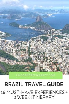 A Brazil travel guide to help you plan a two week itinerary with 18 things to do in Brazil including Rio Paraty Ilha Grande Igauzu and Pantanal & others. Argentina Travel, Peru Travel, Travel Abroad, India Travel, Backpacking South America, South America Travel, South America Destinations, Travel Destinations, Amazing Destinations