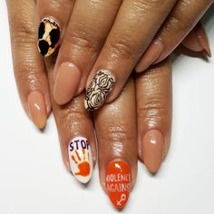 da66b8ca1be3 Inspired by the 'End Violence Against Women' Movement Shape Magazine, Nail  Shop,