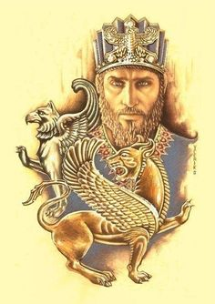 Cyrus the great is the founding king of the Persian Empire, it then marks a turning point in the history of the ancient world. Ancient Persian, Ancient Art, Ancient History, Ancient Mesopotamia, Ancient Civilizations, Turm Von Babylon, Persian Tattoo, Cyrus The Great, Farah Diba