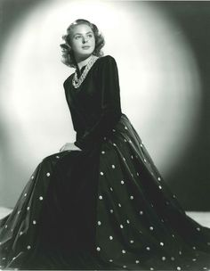 【ELLEgirl】イングリット・バーグマン生誕100年! ハリウッド人気女優ポートレイト展が開催|エル・ガール・オンライン