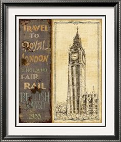 Travel to London...