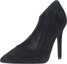 KENDALL + KYLIE Women's ABI5 Black Fabric/Smart Velvet Sarga Backing Shoe. Get things done with precision in the sharp ABI5 pump. Velvet and fabric upper. Easy slip-on wear. Pointed toe. Man-made lining. Lightly-padded footbed. Wrapped stiletto heel. Synthetic outsole. Imported. Measurements: Heel Height: 4 in Weight: 9 oz Product measurements were taken using size 10, width M. Please note that measurements may vary by size.