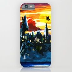 Hogwarts Castle At Sunset iPhone 6s Slim Case