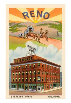 The old Overland Hotel & Casino Reno